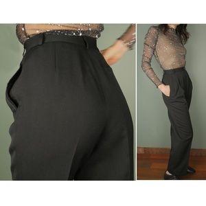 Virgin Wool Lined Trouser